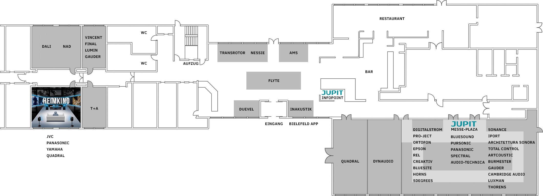Hotel Mercure Raumplan